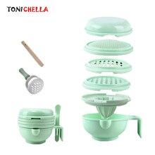 Детская шлифовальная пищевая добавка для кормления измельчающая пищевая посуда гигиенический набор Nibbler для младенцев ручной работы Инструменты для приготовления пищи T0372