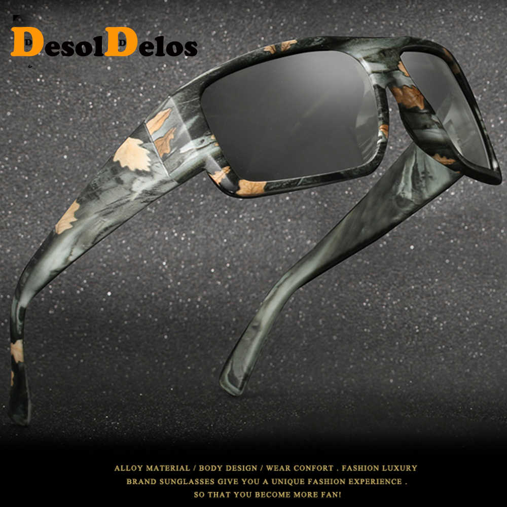 Mens Ao Ar Livre de Condução Óculos De Sol De Pesca Lente HD óculos de Sol Óculos Polarizados Óculos de Sol óculos de Sol Fotocromáticas Transição B1028