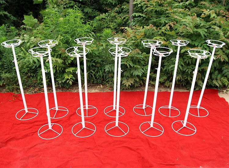 20 Pcs Wedding Road Lead Frame With Silk Cloth Cover For Wedding
