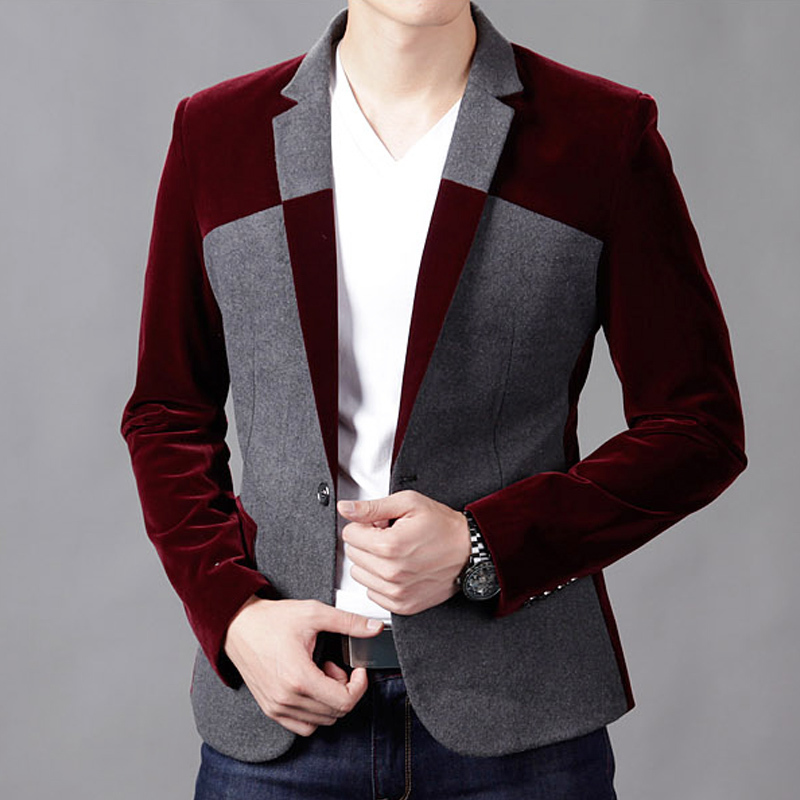 Compare Prices on Red Velvet Blazer- Online Shopping/Buy Low Price ...