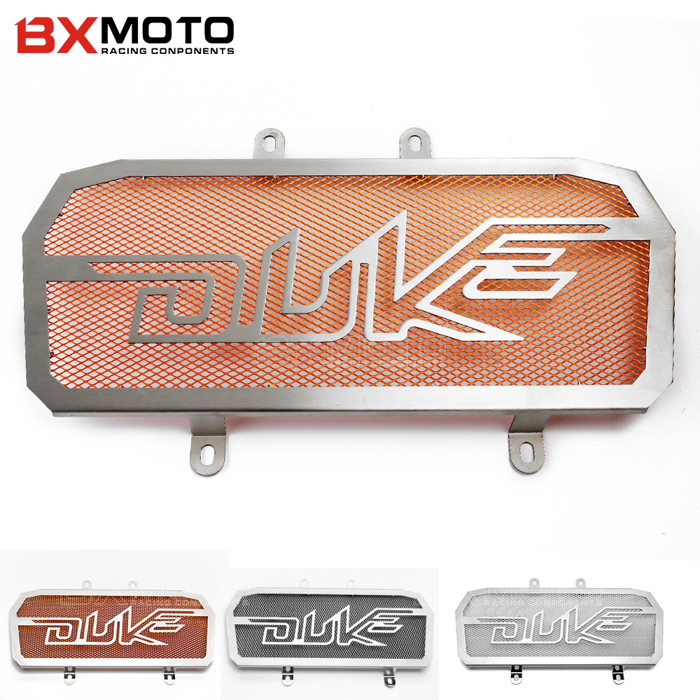 For Ktm Duke 125 200 duke125 Motorcycle Accessories Parts Stainless Steel Radiator Grill Guard Cover Protector Cnc Motorbike motorcycle cnc balance bar for ktm 125 duke 200 duke 390 handle rebar handlebar modification parts accessories balance bar