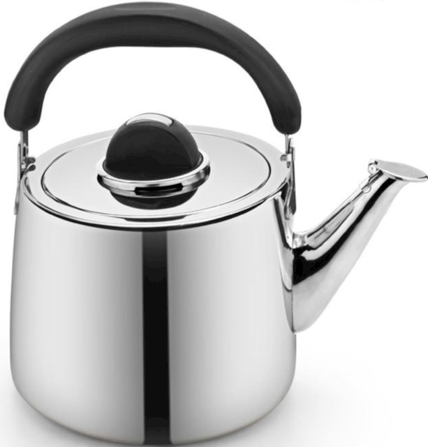 Stainless steel utensils stovetop whistling kettle