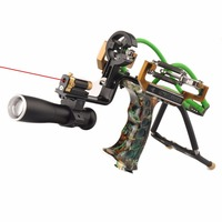 Judge G5 Slingshot Hunting Powerful Catapult Camouflage Stainless Steel Hunter Aluminium Alloy Sling Shot With