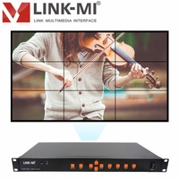 LINK MI LM TV09 HDMI+VGA+AV+USB LED/LCD 3x3 Video Wall Controller Support 180 Degree Rotation