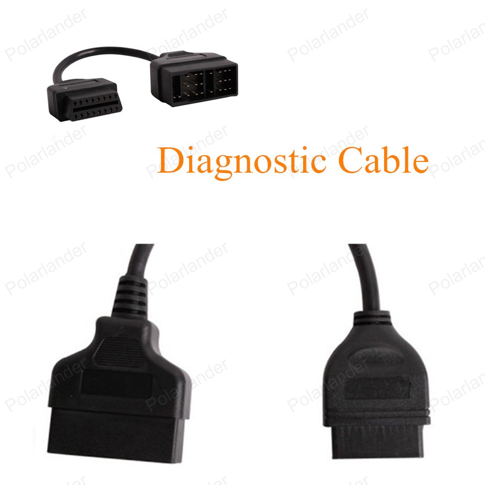 High Quality Multi Function Diagnostic Adapter Connector <font><b>22Pin</b></font> to 16Pin OBD2 Interface Adapter for <font><b>Toyota</b></font> Car Diagnostic Cable image