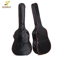 Oxford Cloth Acoustic Guitar Bass 41 Inch Back Carry Cover Case Bag Holder with Shoulder Straps Music Instruments Accessories