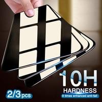 2/3 Uds templado de vidrio para Huawei P20 P30 P10 amigo 20 Lite Protector de pantalla para Huawei P10 más P20 Mate10 Pro protectora de vidrio