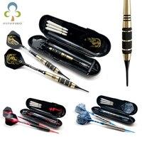 3 unids/set de dardos de punta suave electrónicos, 18g/19g/21g, profesional, con caja para dardos, eje para dardos negro, envío gratis GYH