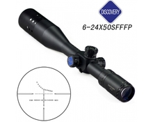 New Arrival Tactical Discovery FFP 6-24X50SF IR Rifle Scope For Hunting BWR-100