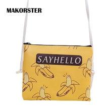 MAKORSTER Women shoulder messenger bags Crossbody bag belt Zipper cute small handbag handbags Women famous brands feminina XH180