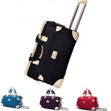 Neue große size22 zoll rolling trolley lugage tasche reisetaschen trolley reisetasche trolley gepäck & reisetaschen für frauen und männer