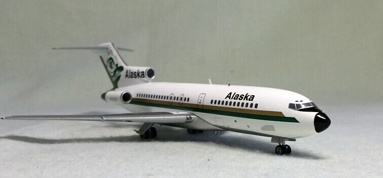 Out of print IF 200 1: 200 Alaska b727-100 N797AS Alloy aircraft model Favorites Model Scale Models With Original Box miyahouse cute cat printed beach bag women large capacity shopping bags vintage female single shoulder bag canvas ladies handbag