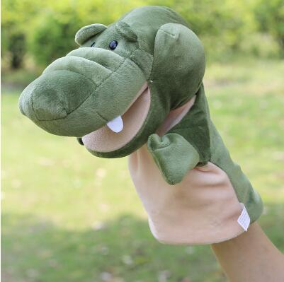 Large Hand puppet toy marine even a finger gloves dolls Toys baby story telling puppets Mouth active