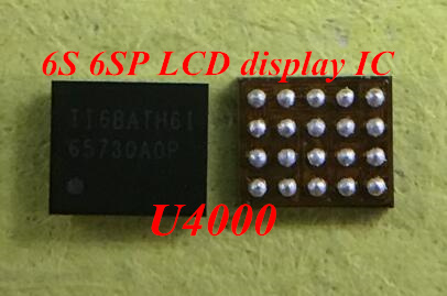 huge discount 45968 f2b16 US $18.0 |30pcs/lot U4000 Display LCD IC 20pins chip for iPhone 6s  6splus-in Integrated Circuits from Electronic Components & Supplies on ...