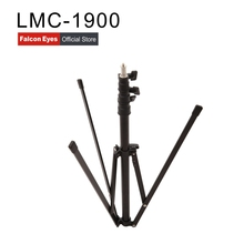 Falcon Eyes Reverse Lamp Tripod 1.9M Height Lightweight Camera Video Light Stand 4 Section Portable Adjustable For DSLR LMC-1900 цена и фото
