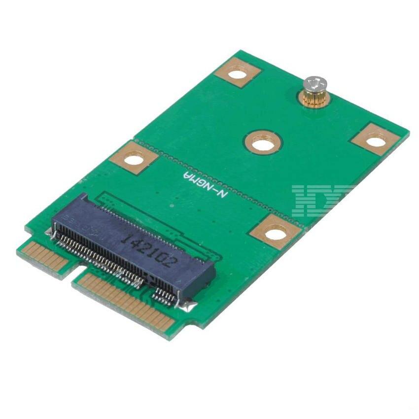 M.2 B Key NGFF SSD To Mini MSATA Adapter Add On Cards Board  Laptop Converter Adaptator M2 Riser Card