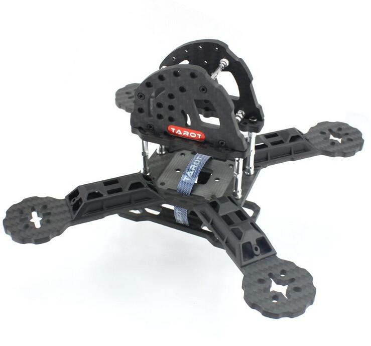 все цены на Tarot TL190H2 190mm Carbon Fiber FPV Racing Frame Kit With 4mm Arm For RC Camera Drone Accessory F18893 онлайн