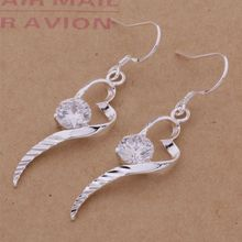 AE250 Hot 925 sterling silver earrings , 925 silver fashion jewelry , luxury goods heart /cdxakvea aoaajfha