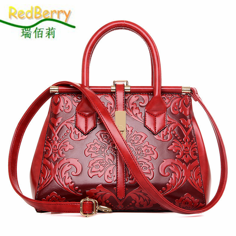 Women Bag Crossbody Top PU Leather Handbag Shoulder New Arrival Famous Brand Luxury Ladies Elegant Casual Tote Chinese Style