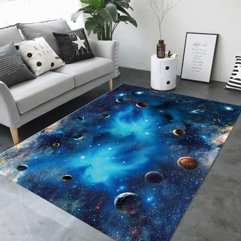 Modern Nordic Style Living Room Carpets Sofa Rug Coffee Table Floor Mat Bedroom Study Carpet Can Be Hand-Washed Yoga Pad Home De