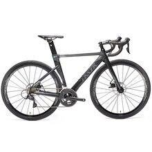 2019 JAVA Siluro3 bicicleta de carretera de aleación de aluminio freno de disco doble 18 bicicleta de velocidad para carretera SORA R3000 sistema de cambio de bicicleta horquilla de carbono