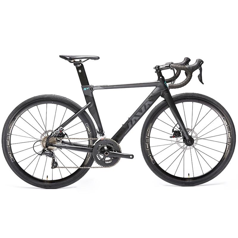 2019 JAVA Siluro3 Aluminum Alloy Road Bike Double Disc Brake 18 Speed Road Bicycle SORA R3000 Innrech Market.com