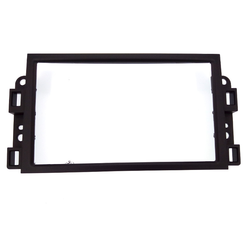 Image 4 - Double 2 Din Car DVD Frame,Audio Fitting Adaptor,Dash Trim Kits,Fascia For Chevrolet Captiva/Lova/Gentra/AVEO-in Fascias from Automobiles & Motorcycles