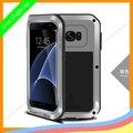 S7 край МОЩНЫЙ случай, оригинал ЛЮБОВЬ МЭИ Экстрим Мощный Ударопрочный Призма Металлический Чехол Для телефона для Samsung Galaxy S7 edge