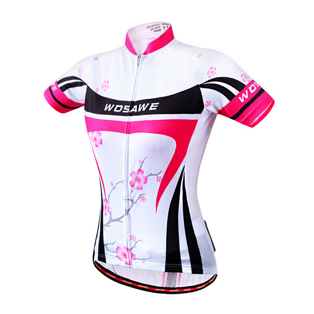 WOSAWE Summer Cycling Jersey Women Short Sleeve Breathable Ciclismo Bicycle  MTB Bike Shirts Cycling Clothing ebbed392a