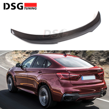 цена на New PSM Type Spoiler for BMW F16 Carbon Fiber X6 Series Rear Trunk Wings 2015 2016 2017 2018
