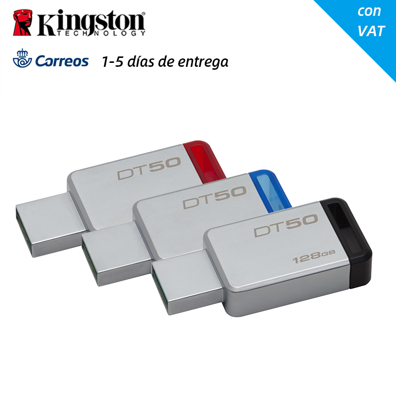 Original <font><b>USB</b></font> 3.0 <font><b>Kingston</b></font> DT50 <font><b>USB</b></font>-Stick 32 GB Memory-Stick Stick Pen Drive DT50/32 GB 32 GB metall <font><b>USB</b></font>-U Disk Mini image