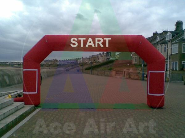 Sandsack Seile Ehrgeizig 8 Mt X 4 Mt Aufblasbare Racing Startlinie Bogen Kommen Mit Komplette Luftgebläse Aufbewahrungstasche