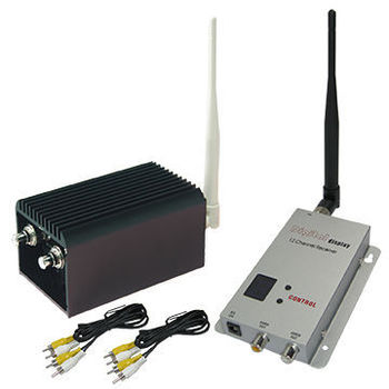 Hot Sale 10KM Long Range Wireless Video Transmitter and Receiver with 5000mW, 8 channels CCTV Wireless Transmitter 5W High Power