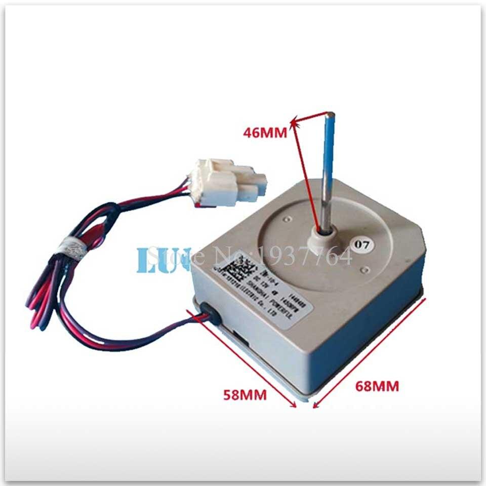 good working for Hisense refrigerator fan motor ZWF-10-4 DC13V 4W