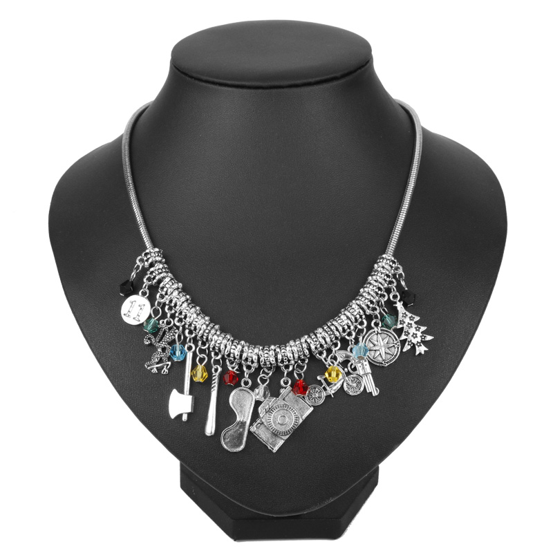dongsheng New STRANGER THINGS Charm Boho Necklace Fashion