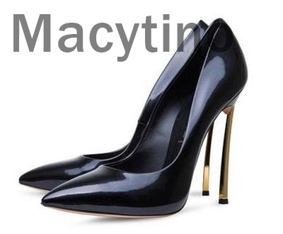 Macytino Pointed Toe Elegant Women Pumps High Heels Suede Leather Office Lady Shoes Black Thin Heel Party Shoes Women new women s high heels pumps sexy bride party thick heel round toe genuine leather high heel shoes for office lady women t8802