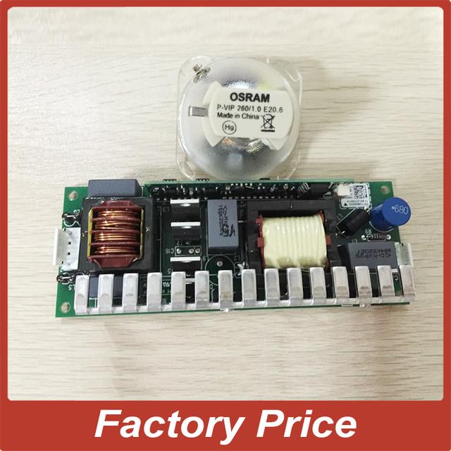 Fonte de alimentação R10 10R 280 W Ignitor Eletrônico reator + Lâmpada 10R luz de palco moving head feixe MSD R10 10R sharpy luz Lâmpada