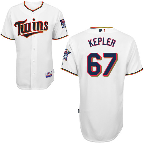 factory price 2bec7 e3bc9 Max Kepler Jersey Minnesota Twins #67 Men's Stitched Name ...
