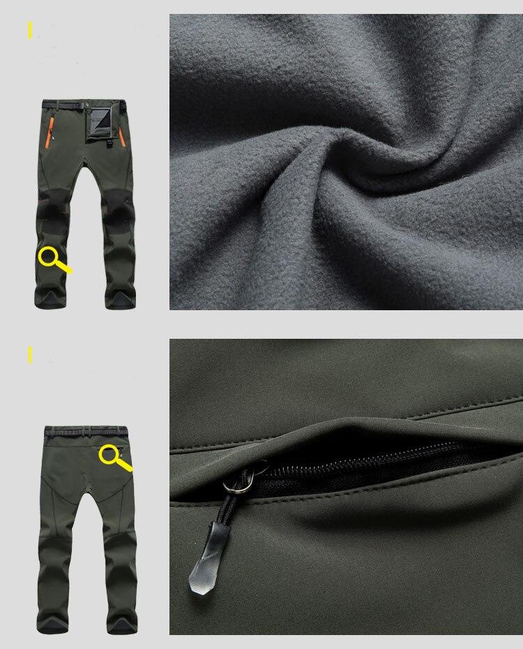 Befusy caminhadas calças à prova dsoftágua softshell