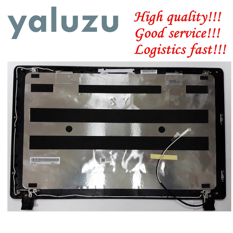 YALUZU NEW Top cover case For LCD Top Cover For Acer V5-552 V5-573 V5-572 V5-573PG TOP Rear LCD Lid Cover case LCD Back Cover gzeele new top lcd cover for hp for elitebook 725 820 g1 top case laptop lcd back cover top case 730561 001 6070b06753 rear lid