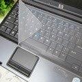 A prueba de agua Teclado Del Ordenador Portátil cubierta del teclado película protectora 15-17 pulgadas portátil cubierta Del Teclado Del cuaderno película a prueba de polvo de silicona