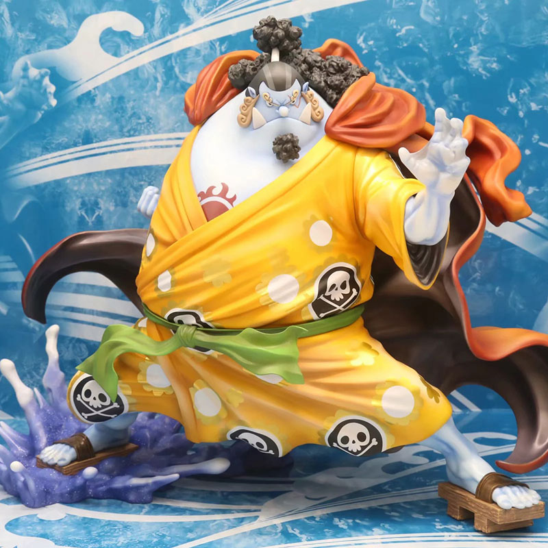 One Piece POP Jinbe Action Figure 1/8 scale painted figure The Straw Hat Pirates Jinbe PVC figure Toy Brinquedos Anime
