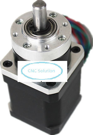 ФОТО Planetary Gear Stepper Motor 1.3A Ratio 20:1 Gearbox Max 10.4Nm with Nema17 Stepper Motor Motor Body 48mm 4Wires for 3D Printer