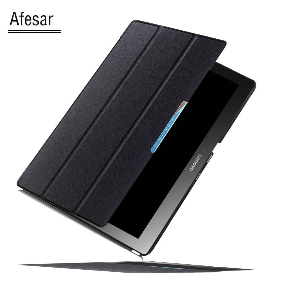 Ultra Slim Magnet Stand Smart Cover Case For Lenovo Tab 2 A10 30 70 Tab3 10 Business Plus 10.1 X30 X70 Pouch with Auto Wake cover for lenovo tab 2 a10 tab 3 10 business case ultra slim lightweight smart cover auto wake for lenovo tab3 10 plus 10 1