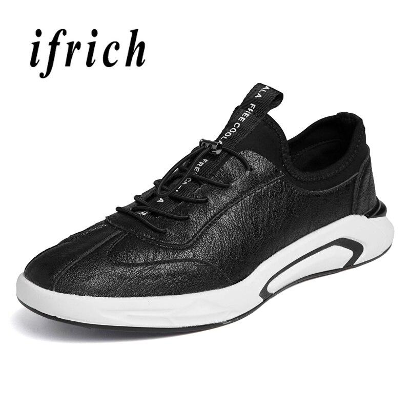 Marche Noir Appartements Blanc Chaussures Printemps Sneakers Bande white Automne Élastique Hommes De Black Jeunes Mâle Mode Portable Décontractées XqZSqAR