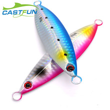 Slow Jigging 30g 40g 60g 80g Metal Jig Power Jig Trout Pike Fishing Lures Saltwater Jigs castfun slim 5pcs lot 30g 40g 60g casting jig saltwater lead lure slow jigging metal jigs lures bait lead fishing accessories ji