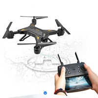 Hot Selling Helicopter Drone met Camera HD 1080 p Foldable Aircraft Drone RC Quadcopter with Remote Control Flying 20 minuten