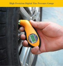 High Presicion Digital Tire Pressure Gauge Tester Tool Auto Car Motorcycle Tyre Air Pressure Gauge PSI KPA BAR KGF Four Units lacywear жакет gk 22 svm