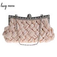 95c8b2e9a Wholesale Price Retail Popular Silk Elegant Noble Dinner Ladies Bag Evening  Bag High Grade Handbag Free
