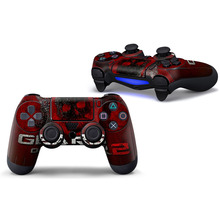 Red blood Protective Cover Sticker For PS4 Controller Skin For Playstation 4 Decal Accessories